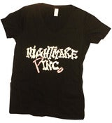 "Image of Nightmare ""Pinc"" Women's V-Neck"