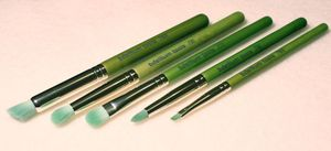 "Image of Green Bamboo 5pc ""Smokey Eye"" Brush Kit"