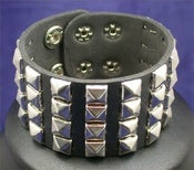 Image of 4 Row Studded Cuff