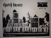 Image of 'church burner' print