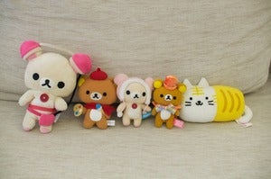Image of Cute Characters Plush bundle