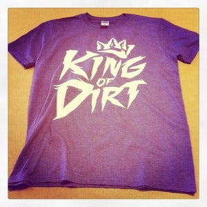 Image of King of Dirt - Logo Tee