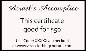 Image of $50 Gift Certificate for $40