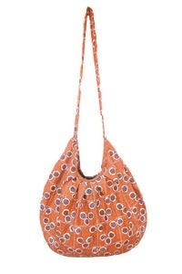 Image of Vintage Coral Hobo Bag