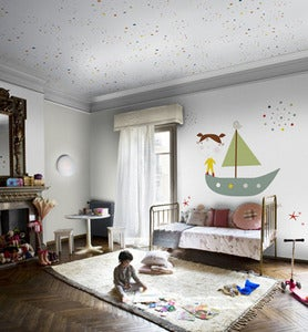Image of Murales nia coleccin Coordonn- Girl's wall paper murals