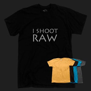 Image of I Shoot RAW - Unisex Tee