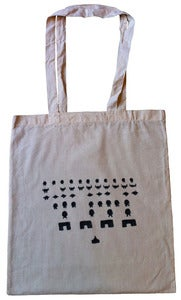 Image of Totes Retro Bag - Space Invaders