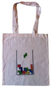 Image of Totes Retro Bag - Tetris
