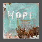 Image of hope 24 x 30