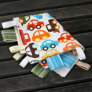 Image of ORGANIC Ribbon Blankies - BOY Colors