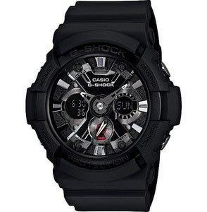 Image of CASIO GSHOCK GA201-1A BLACK