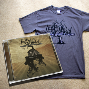 Image of Trippy Wicked - Going Home CD + 'Tree' T-Shirt Bundle