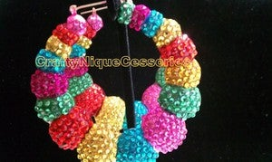 Image of ♥ Rainbow Hoops ♥