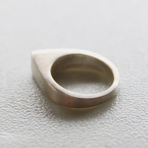 Image of Heavyweight Teardrop Ring