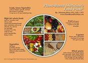Image of Plant-Based Food Plate Refrigerator Magnet