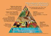 Image of Plant-Based Food Pyramid Refrigerator Magnet