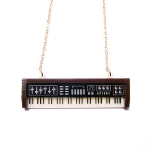 Image of keyboard necklace