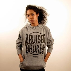 Image of BRUISED NOT BROKEN (FLEECE)