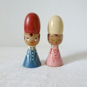 Image of Japanese Salt &amp; Pepper Eggcups
