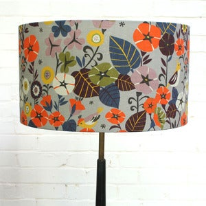 Image of NEW! Lampshade in Nasturtium (in two sizes from £48.00)