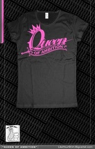 Image of Queen Of Ambition (Black/Pink)