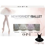 Image of OPI New York City Ballet Collection Spring 2012 Mini Set