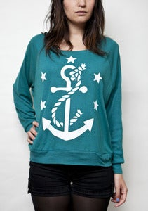 Image of &quot;Anchored&quot; Girl's Sweater
