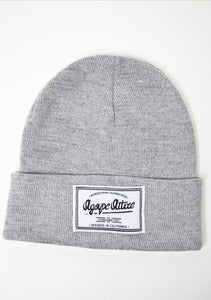 Image of Agape Patch on Gray Beanie