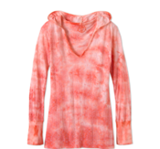 Image of prAna Julz Hoodie in Coral - on sale