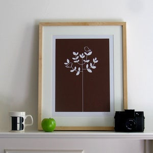 Image of Nature Lover Screen Print | Choc