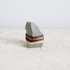Image of &quot;Mini Pirate's Point&quot; Nomadic Wrapped Stone