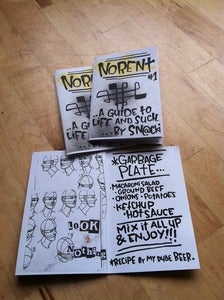 Image of Snacki Zine: More Rent #1