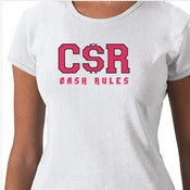 Image of CSR Womans Baby Doll Tee