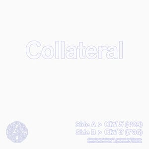 Image of Collateral 12&quot; (dsr035) - limited to 300 copies on white vinyl 