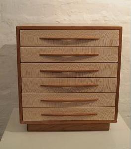 Image of Cherry Wood Jewelry Box