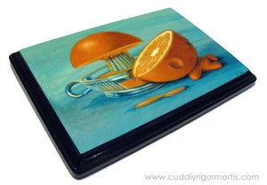 Image of &quot;Citruside&quot; mounted giclee print