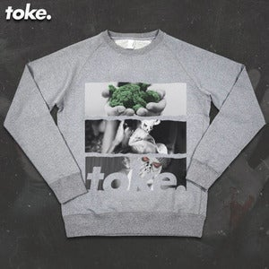 Image of Toke - PUFF PUFF - Sweatshirt