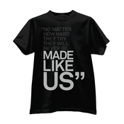 "Image of Paper Tiger ""Made Like Us"" T-Shirt"