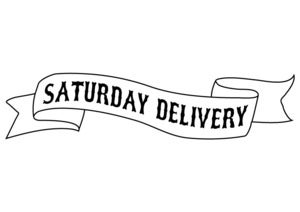 Image of Saturday Courier Delivery