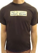 Image of Sound of the Police - ARMY BAND TEE (Men &amp; Women)