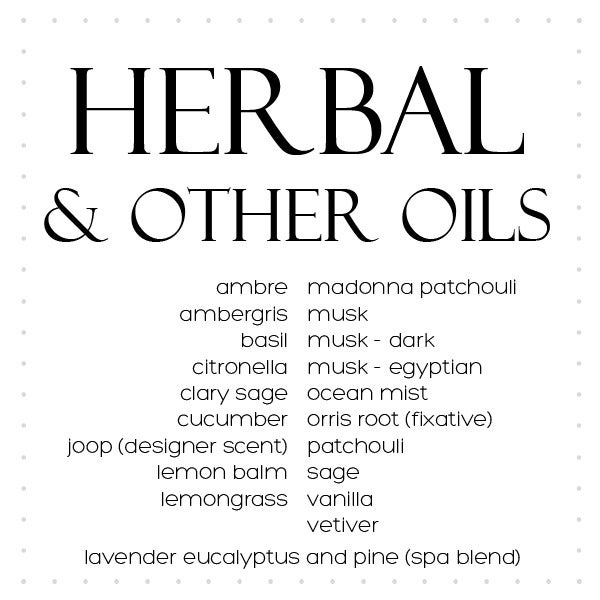 Image of Oils Herbal and Other