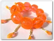 Image of Neon &quot;Wilma&quot; bracelet Orange