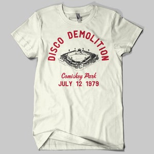 Image of Disco Demolition White Sox T-Shirt