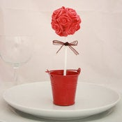 Image of 'Blush' Cake Pop Topiary Wedding Favour