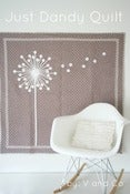 Image of justdandy baby quilt -PAPER PATTERN by V and Co.
