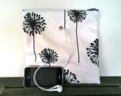 "Image of ""Gadgety"" Yarn Pop - B&W Dandelions"