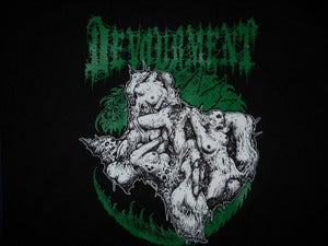 Image of DEVOURMENT TEXAS T SHIRT (IN STOCK)