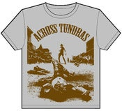 "Image of Across Tundras ""LAWMAN"" hand screen t shirt"