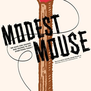 Image of Modest Mouse Dallas : by Christian Helms