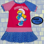 Image of **SOLD OUT** Smurfette Pretty in Blue Smurf Dress - Size 5T/6